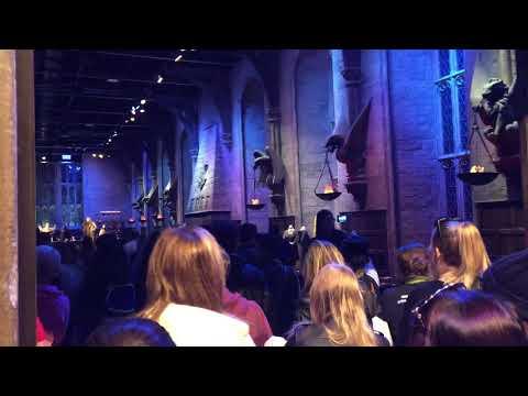 [Harry Potter Studio] L' entrée et la grande salle