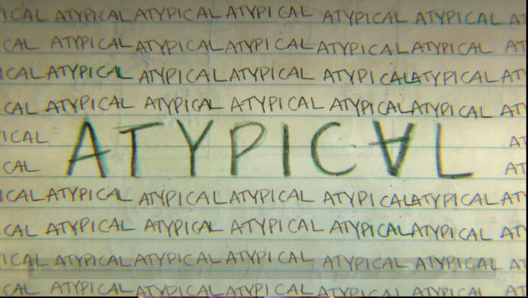 affiche séries à regarder -atypical