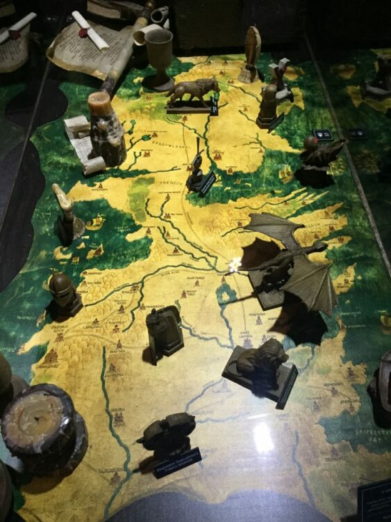 Table de bataille Game of Thrones