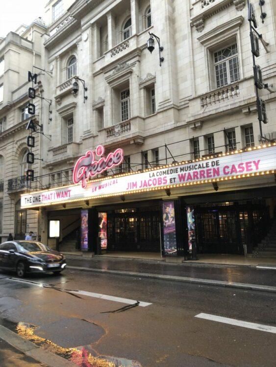 Théâtre Mogador Paris