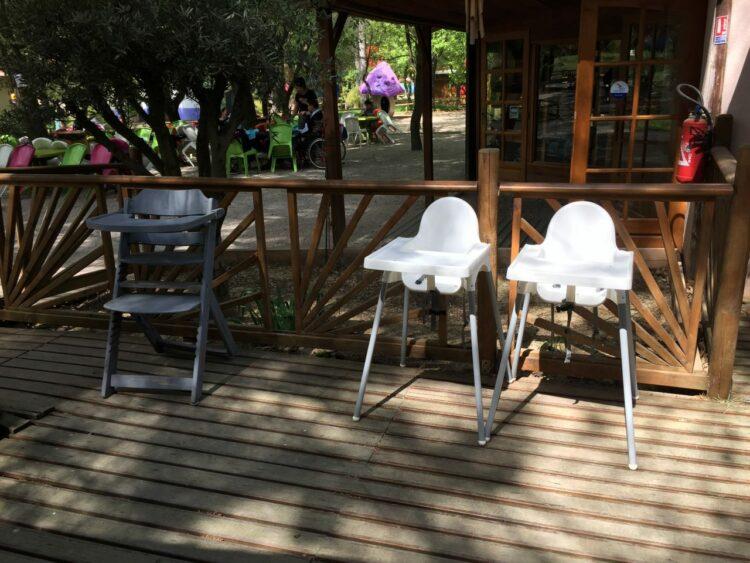 Village des automates-chaises hautes