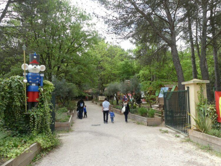 Village des automates - entrée