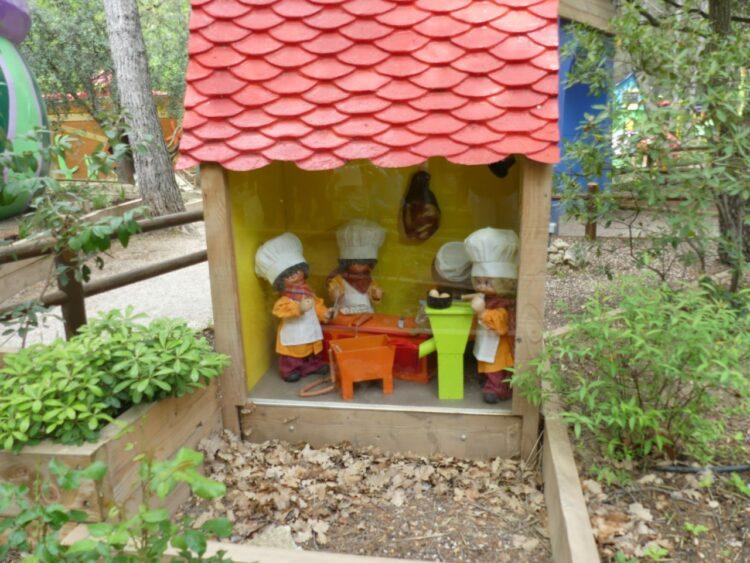 Village des automates - automates cuisine