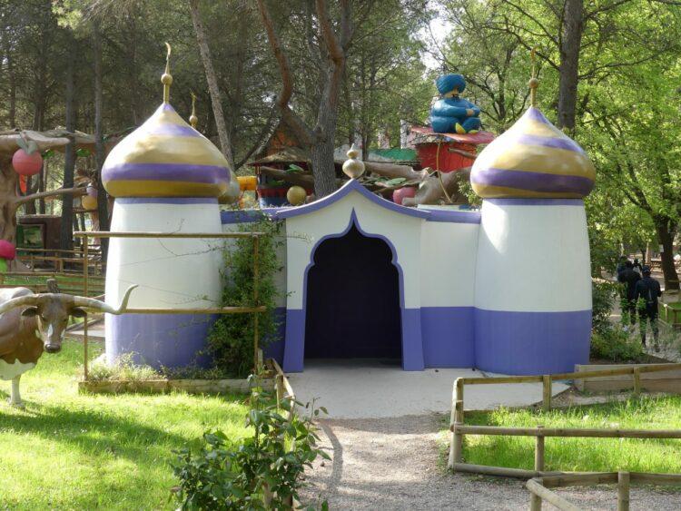 Village des automates-aladdin