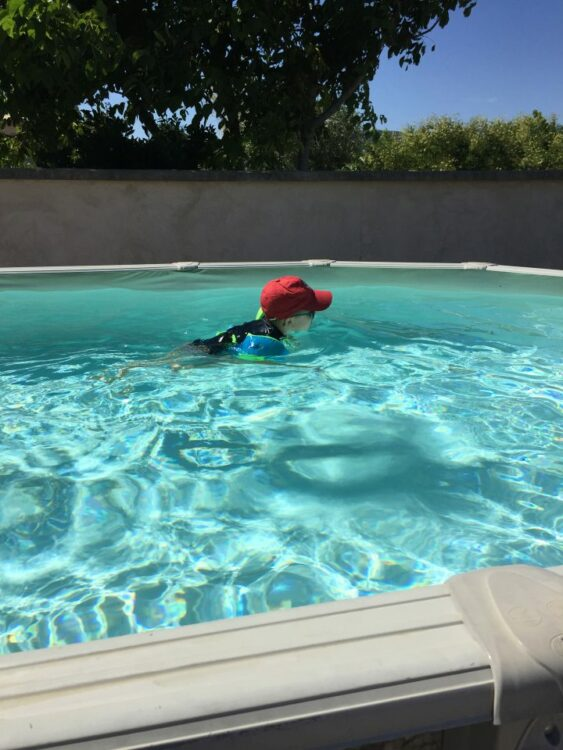 piscine chez papi