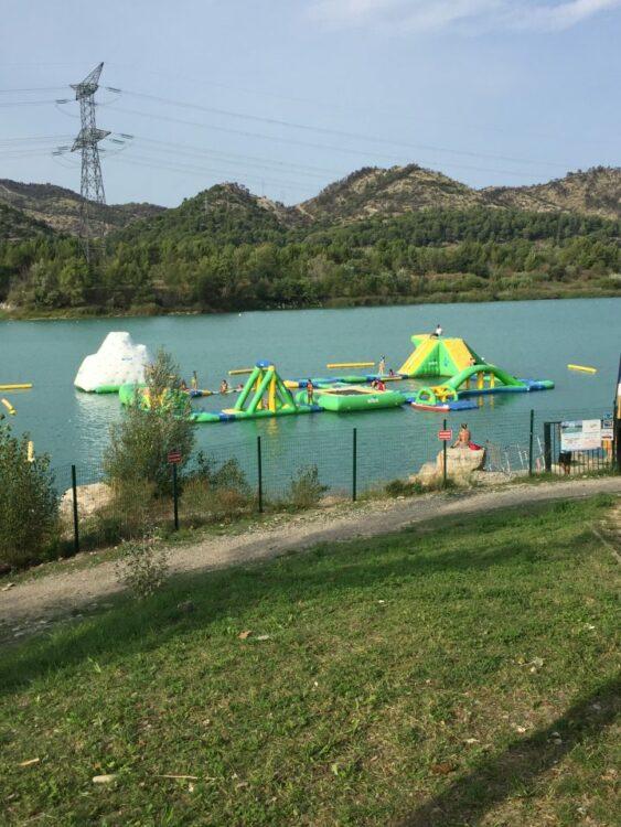 Bouée Lac de Peyrolles