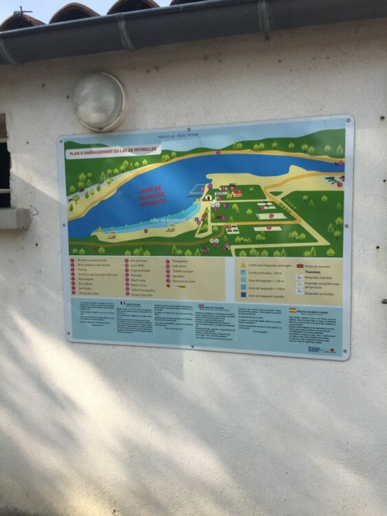 Plan Lac de Peyrolles