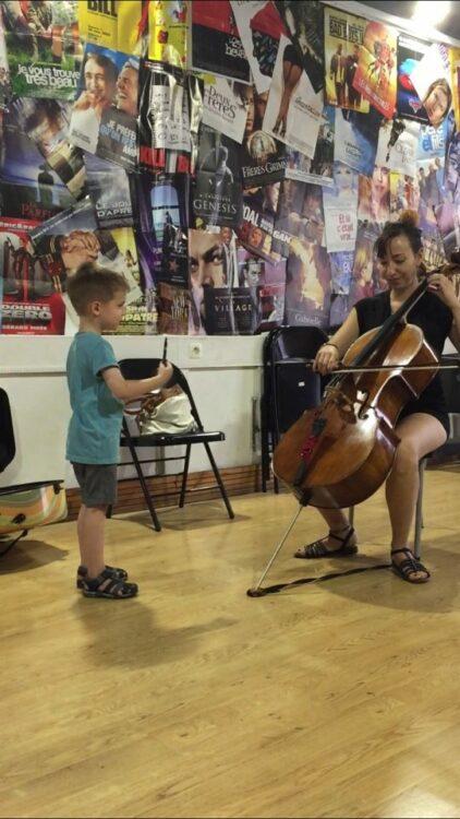 spectacle école de musique