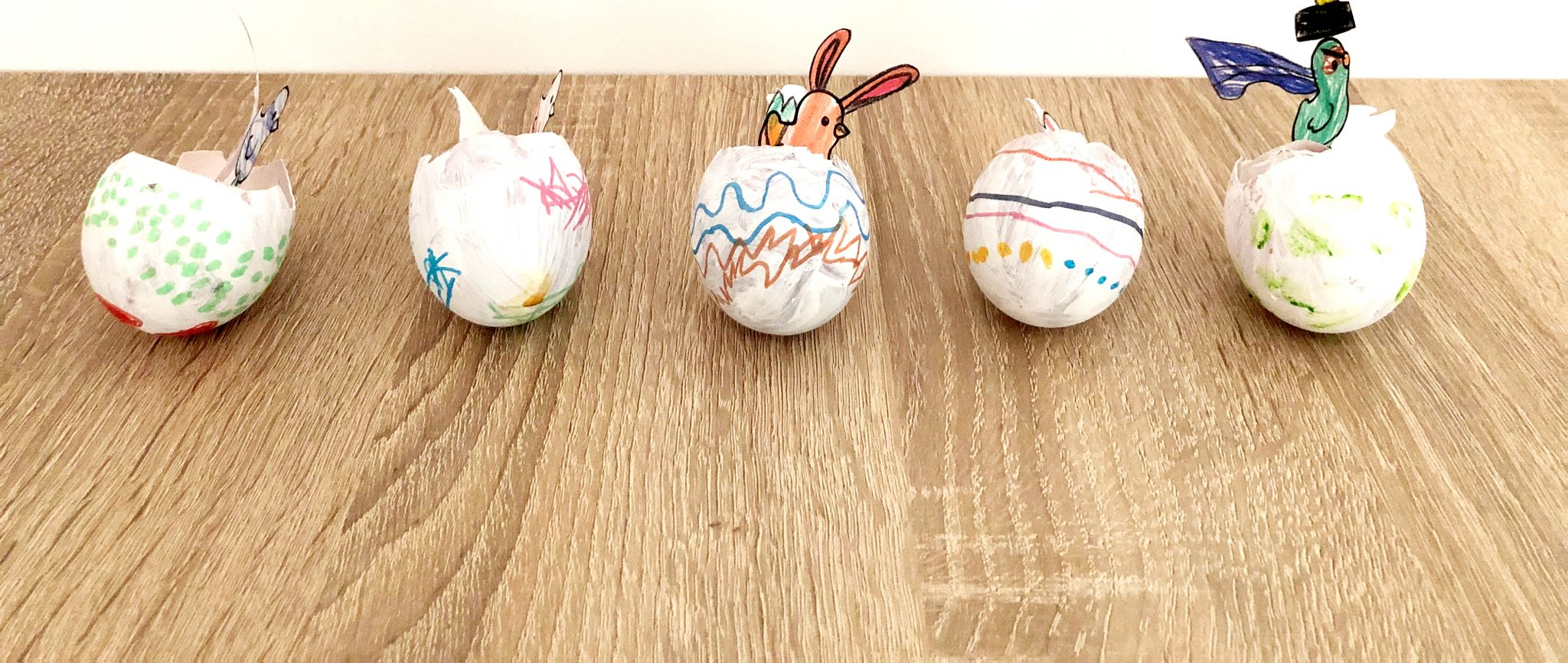 Décoration coquilles Pâques