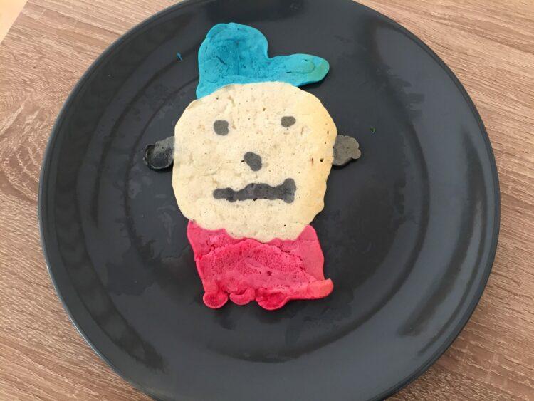 bonhomme pancake art